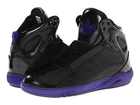 Adidasi Adidas Originals - Roundhouse Mid 2.0 - Black/Black/Collegiate Purple