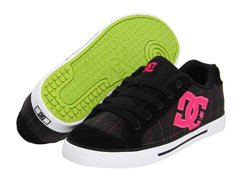 Adidasi DC - Chelsea W - Black/Crazy Pink/Soft Lime