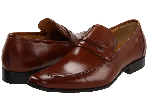 Pantofi Steve Madden - Pawnce - Cognac Leather