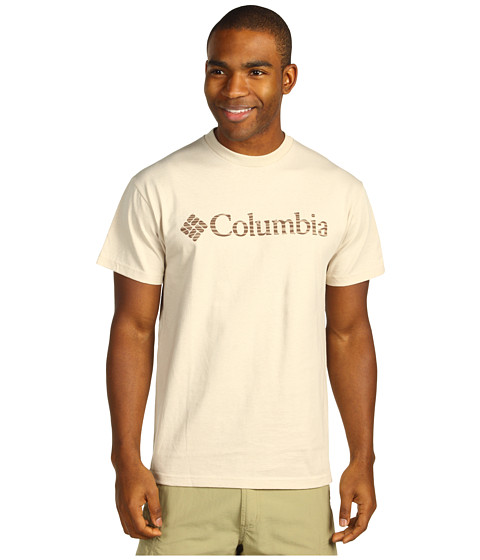 Bluze Columbia - CS Engrained Short Sleeve Tee - Fossil