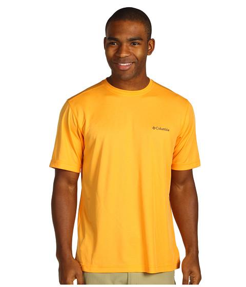 Bluze Columbia - Meeker Peak Short Sleeve Crew - Summer Orange