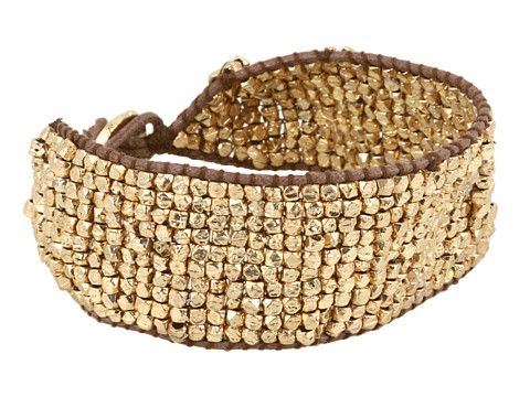 Bijuterii Lucky Brand - Henna Dreams Beaded Bracelet - Gold