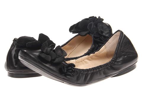 Balerini Nine West - Lacedup - Black Leather