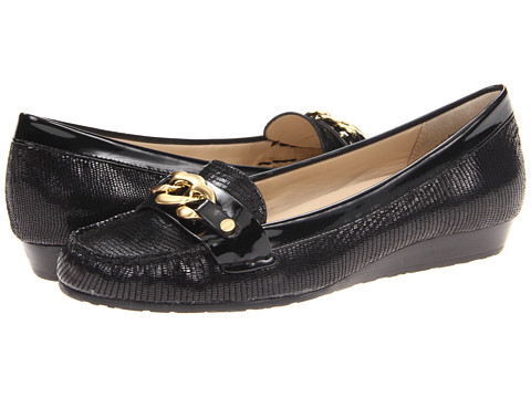 Balerini Anne Klein - Aggee - Black Mini Lizard