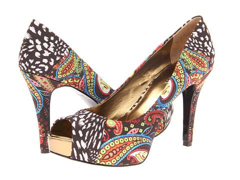 Pantofi Nine West - Cadee - Brown Combo Fabric