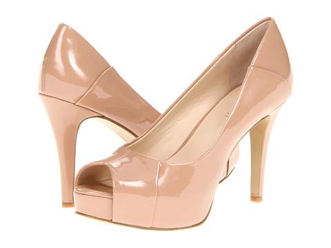 Pantofi Nine West - Cadee - Dark Natural Synthetic