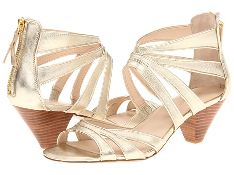 Pantofi Nine West - Coletta - Light Gold Metallic Leather