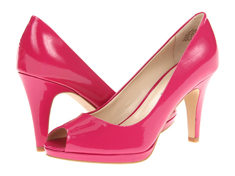 Pantofi Anne Klein - Park Ave - Orchid/Pink Patent