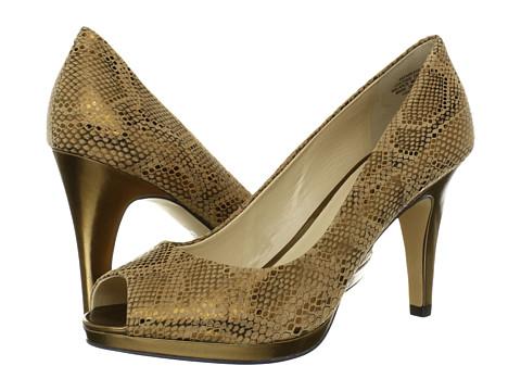 Pantofi Anne Klein - Park Ave - Bronze Snake