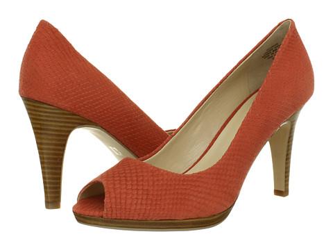 Pantofi Anne Klein - Park Ave - Coral