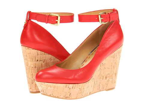 Pantofi Nine West - Yesgirl - Red Leather