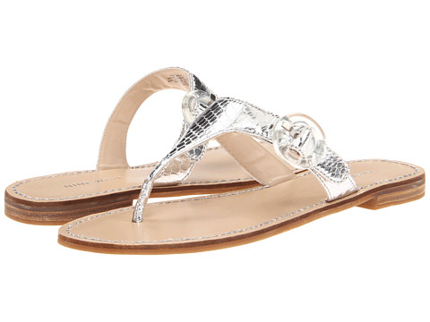 Sandale Nine West - Fanciful - Silver Synthetic
