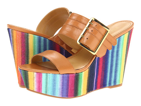 Sandale Nine West - Milo - Natural Leather