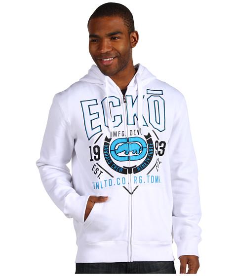 Bluze ECKO - Ecko Outline Hoodie - Bleach White