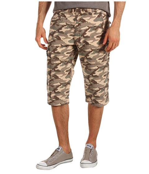 Pantaloni Calvin Klein - Camo Printed Ripstop Short - Brown Camo