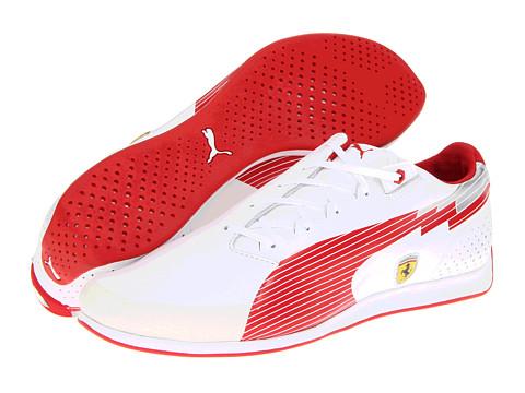 Adidasi PUMA - evoSPEED Low Ferrariî - White/Rosso Corsa