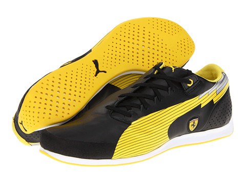 Adidasi PUMA - evoSPEED Low Ferrariî - Black/Vibrant Yellow