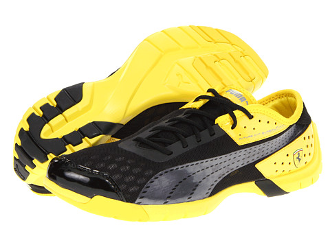 Adidasi PUMA - Future Cat SuperLT Ferrariî - Black/Aged Silver/Vibrant Yellow