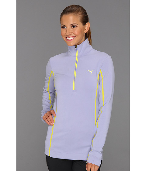 Bluze PUMA - Golf Monoline 1/4 Zip Top \13 - Persian Violet
