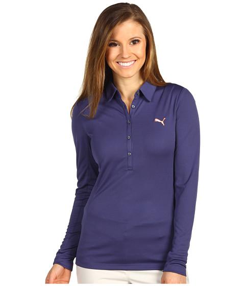 Tricouri PUMA - Golf Long Sleeve Polo Shirt \13 - Patriot Blue