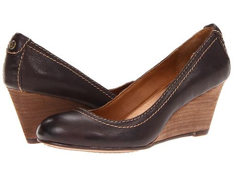 Pantofi Calvin Klein - Tania Tumbled - Dark Brown