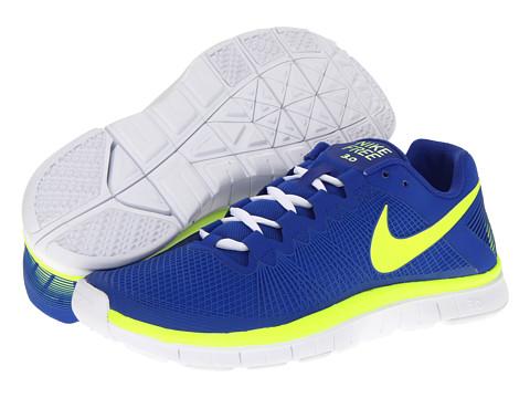 Adidasi Nike - Free Trainer 3.0 - Hyper Blue/White/Volt