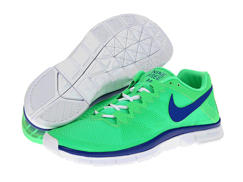 Adidasi Nike - Free Trainer 3.0 - Poison Green/White/Hyper Blue