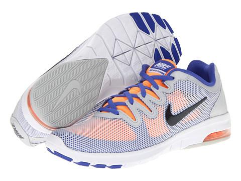 Adidasi Nike - Air Max Fusion - Pure Platinum/Violet Force/Bright Citrus/Anthracite