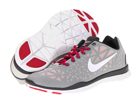 Adidasi Nike - Free TR Fit 3 - Strata Grey/Anthracite/Polarized Pink/White