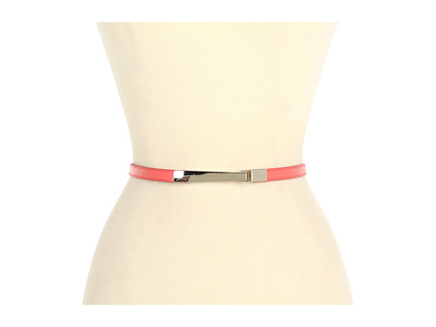 Curele Lodis Accessories - Del Rey Adjustable Hook Pant Belt - Coral
