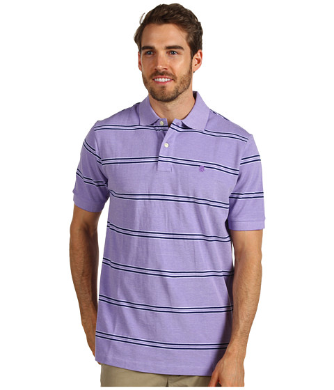 Tricouri IZOD - Short Sleeve Oxford Stripe - Dahlia Purple
