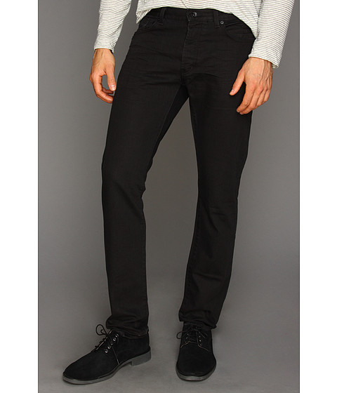 Blugi John Varvatos - Wight Avery Wash Jean in Black - Black