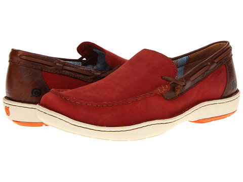 Pantofi Born - Crest - Sunset Red Waterproof Nubuck