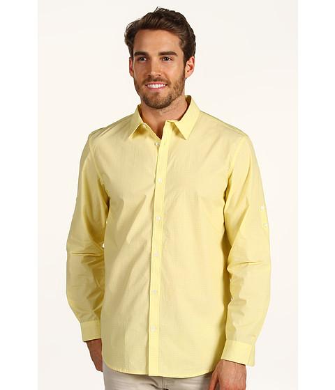 Tricouri Calvin Klein - L/S YD Geo Print Shirt - Pastel Yellow