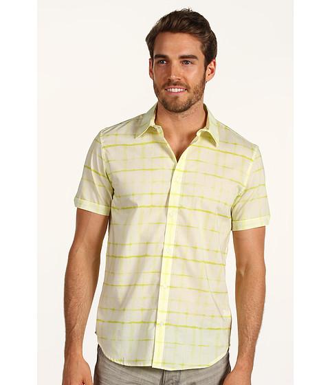Tricouri Calvin Klein - S/S Window Pane Print - Pastel Yellow