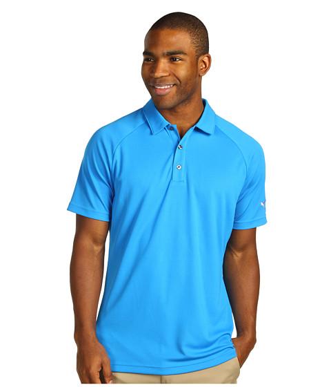 Tricouri PUMA - Golf Raglan Tech Sleeve Logo Polo ââ¬Ë13 - Directoire Blue