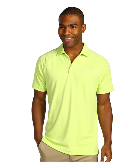 Tricouri PUMA - Golf Raglan Tech Chest Logo Polo â13 - Sharp Green