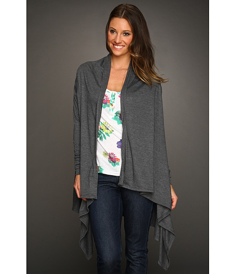 Pulovere Volcom - My Favorite Cardy - Charcoal Heather