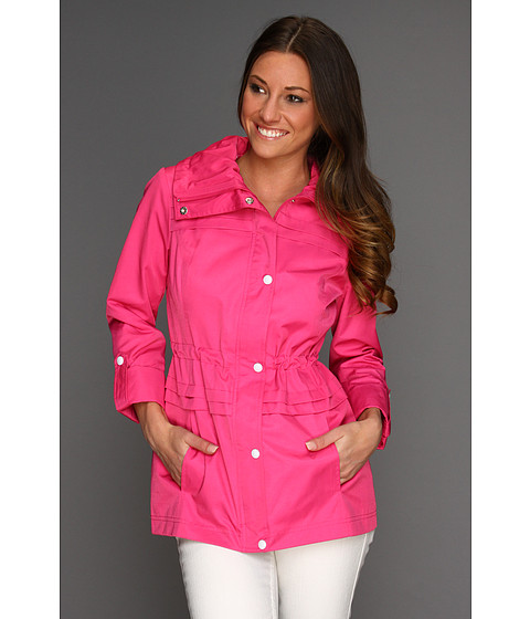 Jachete Jessica Simpson - Anorak w/ Roll-Up Sleeve - Cerise