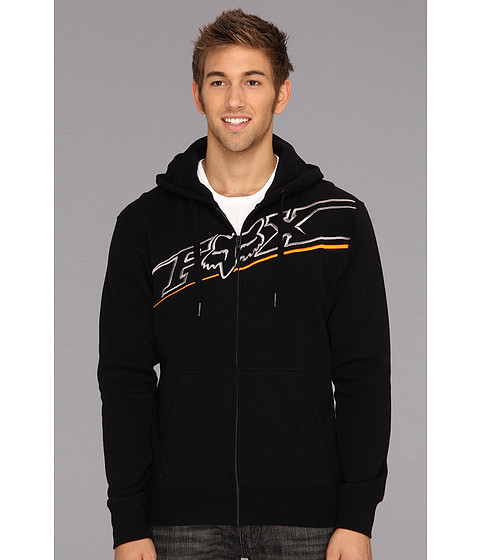 Bluze Fox - Elecore Zip Front Fleece - Black