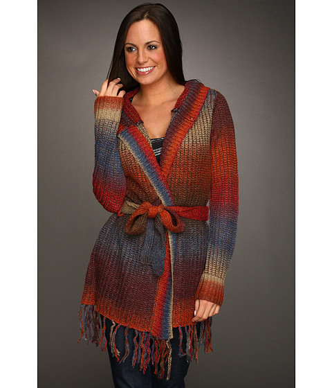 Pulovere Quiksilver - Sunset Lake Ombre Wrap Sweater - Sunset Lake Ombre
