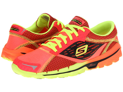 Adidasi SKECHERS - GOrun 2 - Red/Lime