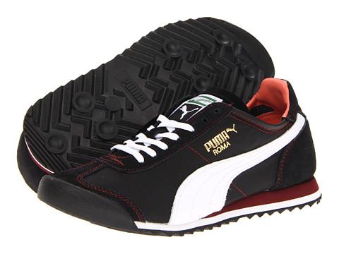 Adidasi PUMA - Roma Slim Nylon Wn\\\'s - Black/White/Fluo Peach