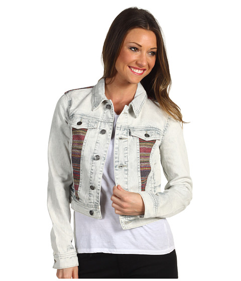 Jachete Free People - Baja Denim Jacket F434 - Trash White Wash