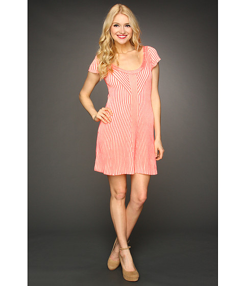 Rochii Free People - Hot Off The Press Dress - Neon Pink
