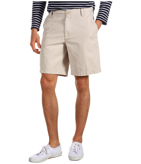 Pantaloni IZOD - Saltwater Flat Front Short - Stone