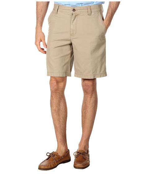 Pantaloni IZOD - Saltwater Flat Front Short - Cedarwood Khaki