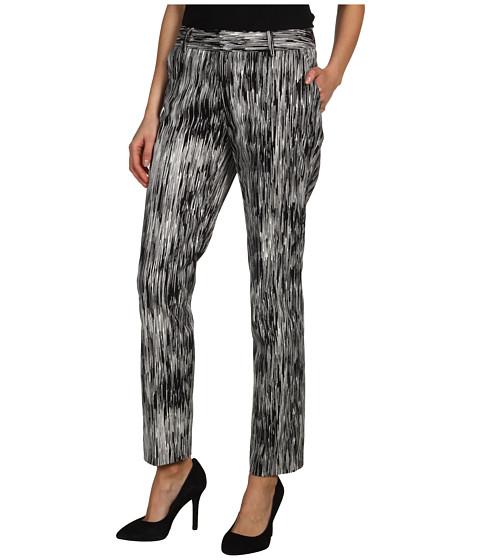 Pantaloni Calvin Klein - Printed Slim Pant - Black Multi