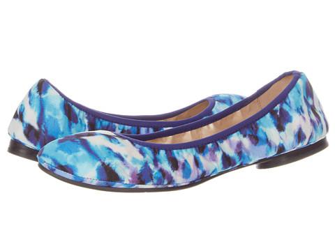 Balerini Nine West - Americana - Blue Multi/Blue Fabric