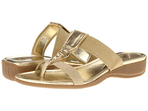Sandale Anne Klein - 7Kiera - Light Gold/Light Gold Fabric
